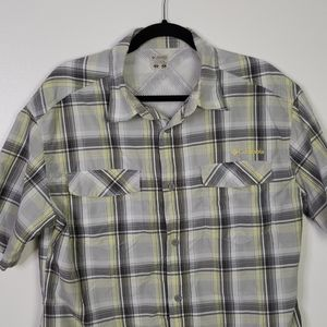Columbia PFC Omni Shade Short Sleeve Button Up
